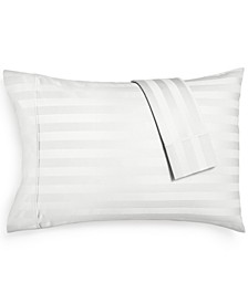 Bergen Stripe Standard Pillowcases, 1000 Thread Count 100% Certified Egyptian Cotton
