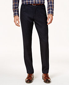 Ryan Seacrest Distinction™ Men's Modern-Fit Charcoal Gray Dress Pants, Created for Macy's