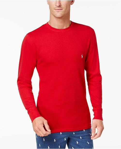Polo Ralph Lauren Men s Big   Tall Lightweight Waffle-Knit Thermal Shirt 7d1896e44