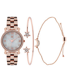 I.N.C. Women's Bracelet Watch 32mm Set, Created for Macy's