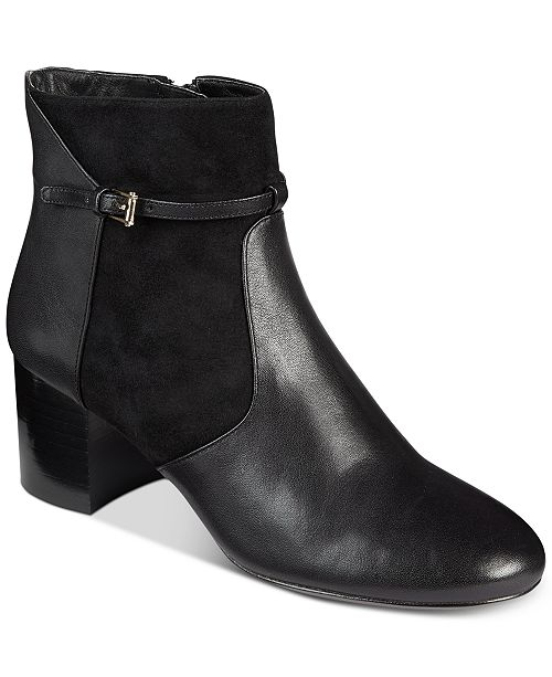 2ad66d7bc600 Cole Haan Women's Paulina Grand Buckle Booties & Reviews - Boots ...
