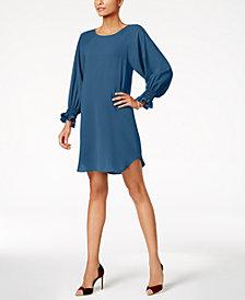 Nine West Bishop-Sleeve Dress