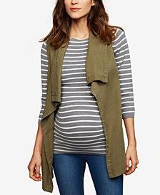 Splendid Maternity Draped Vest