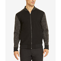 Kenneth Cole Reaction Men's Colorblocked Knit Bomber Jacket