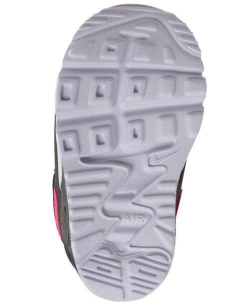 1fd17ae9f333 Nike Toddler Girls  Air Max Tiny 90 Running Sneakers from Finish Line ...