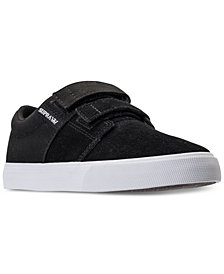 Supra Big Boys' Stacks II Casual Sneakers from Finish Line