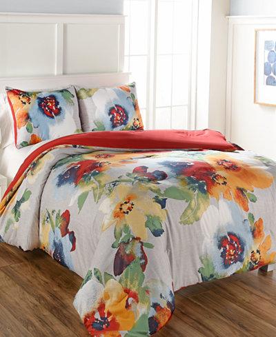 Kerra 3-Pc. Queen Comforter Set