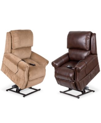 Raeghan Power Lift Reclining Chair Collection  sc 1 st  Macyu0027s & Raeghan Fabric Power Lift Reclining Chair - Furniture - Macyu0027s islam-shia.org