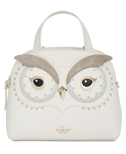 a166f9fde4cd1 kate spade new york Star Bright Owl Small Lottie Satchel   Reviews ...