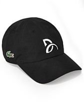 Lacoste Collection For Novak Djokovic Men s Signature Ultra Dry Cap 8fa5766b4b6
