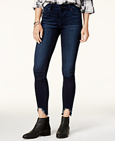 Articles of Society Stephanie Step-Hem Skinny Jeans