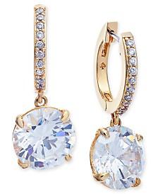 Kate Spade New York  Crystal and Pavé Drop Earrings