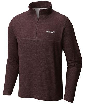 Columbia Men's Rugged Ridge Quarter-Zip Sweater - Sweaters - Men ...