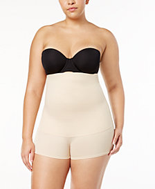 Maidenform Women's  Plus Size Firm Control Fat-Free Dressing High Waist Boyshort 12107