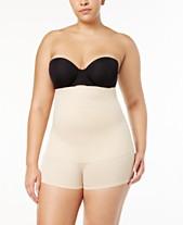 c233263e1b Maidenform Women s Plus Size Firm Control Fat-Free Dressing High Waist  Boyshort 12107