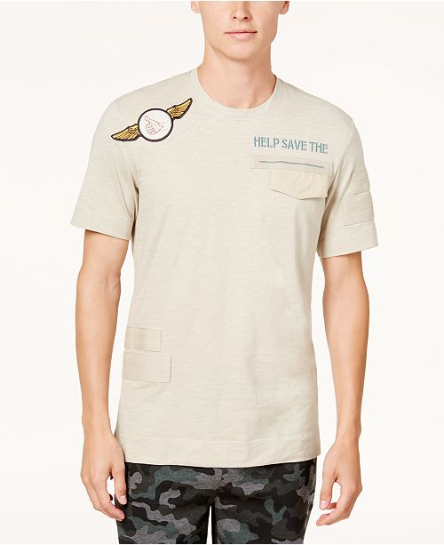 American Rag Men's Patch Pocket T-Shirt, Created for Macy's