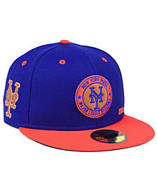 New Era New York Mets X Wilson Circle Patch 59FIFTY Fitted Cap