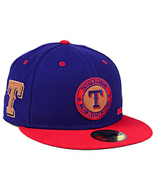 New Era Texas Rangers X Wilson Circle Patch 59FIFTY Fitted Cap