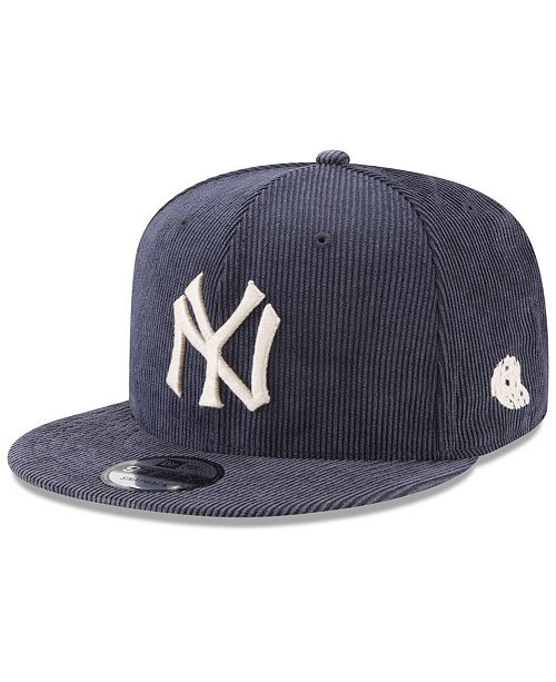 8cfe477fa4a New Era New York Yankees All Cooperstown Corduroy 9FIFTY Snapback Cap ...