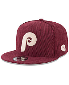 New Era Philadelphia Phillies All Cooperstown Corduroy 9FIFTY Snapback Cap
