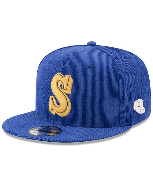 uk availability 6ed32 4fd6c New Era Seattle Mariners All Cooperstown Corduroy 9FIFTY Snapback Cap ...