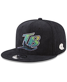 New Era Tampa Bay Rays All Cooperstown Corduroy 9FIFTY Snapback Cap