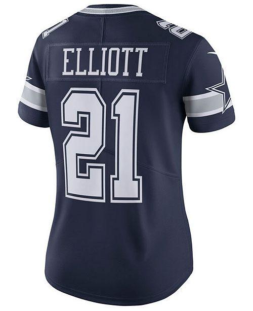 Nike Women's Ezekiel Elliott Dallas Cowboys Limited II Jersey