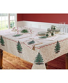Christmas Tree Table Linens Collection