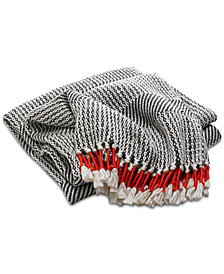 Lucky Brand Tassel Throw, Created for Macy's