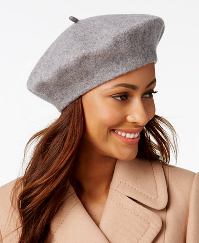 INC International Concepts Solid Beret, Created for Macy's