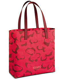 Receive a complimentary Tote Bag with any large spray purchase from the Kenzo fragrance collection