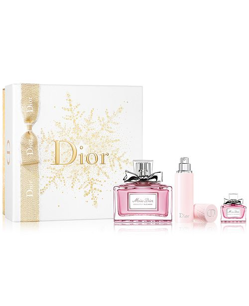 e0e3c39ca8a23 Dior 3-Pc. Miss Dior Absolutely Blooming Gift Set   Reviews - All ...