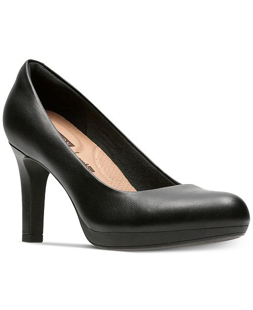 be1441daa9cab Clarks Collection Women's Adriel Viola Pumps; Clarks Collection Women's Adriel  Viola ...