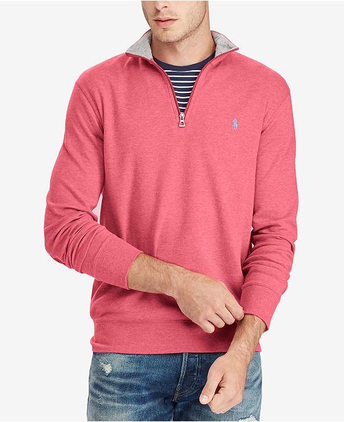 b5a1591a1c16 Polo Ralph Lauren Men s Jersey Half-Zip Pullover   Reviews ...