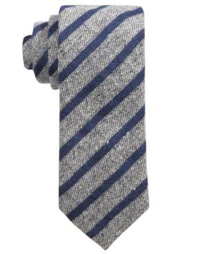 Hugo Boss Men's Stripe Skinny Tie thumbnail