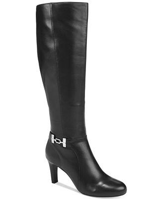 Bandolino Lamari Dress Boots, Created for Macy's