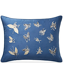 "Lauren Ralph Lauren Josephina Embroidered 12"" x 16"" Decorative Pillow"