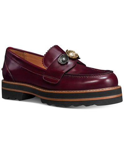 COACH Lenox Loafers