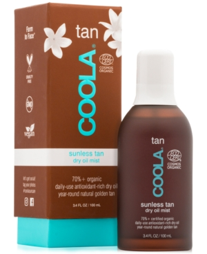 Tan Sunless Tan Dry Oil Mist