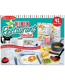Melissa & Doug Diner Restaurant Play Set