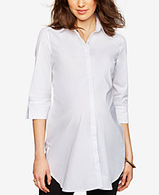 Isabella Oliver Maternity Button-Front Top