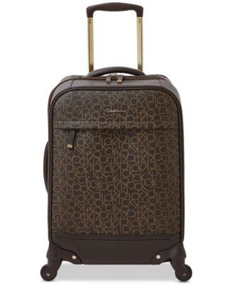 """Mulberry 20"""" Softside Spinner Suitcase"""