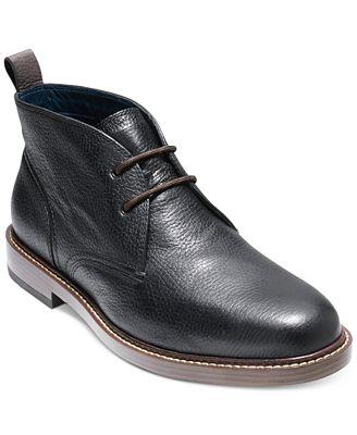 Cole Haan Men's Adams Grand Chukka Boots
