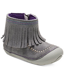 Stride Rite Soft Motion Tasha Fringed Boots, Baby Girls & Toddler Girls