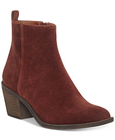 Lucky Brand Women's Natania Block-Heel Booties