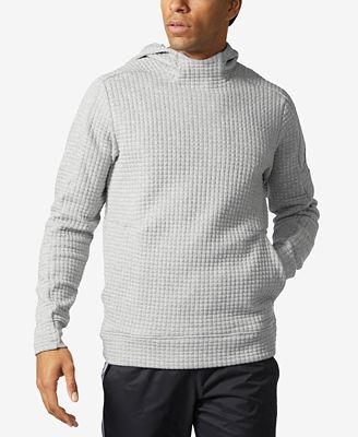 adidas Men's ZNE Pulse Squad ID Quilted Hoodie
