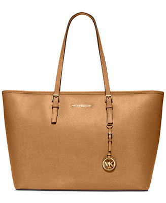 Michael Kors Jet Set Travel Top Zip Multifunction Tote Handbags Accessories Macy S