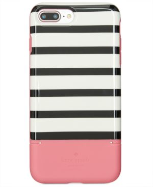 KATE SPADE NEW YORK STRIPE CREDIT CARD IPHONE 7 PLUS/8 PLUS CASE