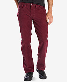 Levi's® 514™ Straight Fit Bedford Corduroy Pants