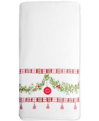 CLOSEOUT! Noelle Cotton Printed Hand Towel